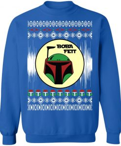 Boba Fett Star Wars Christmas Ugly Sweatshirt