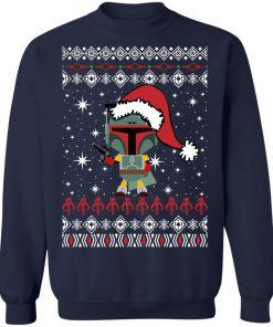 Boba Fett Santa Star Wars Christmas Ugly Sweatshirt