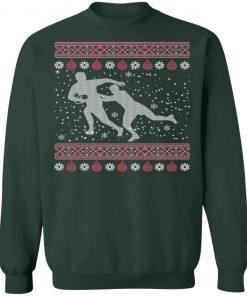 Proud Rugby Lover Ugly Christmas Sweatshirt