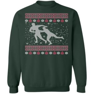 Proud Rugby Lover Ugly Christmas Sweatshirt
