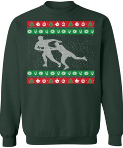 Mens Finny Rugby Ugly Christmas Sweatshirt