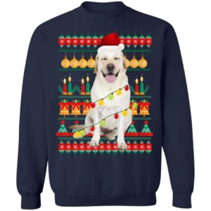 Labrador Ugly Christmas Dog Lovers Shirt Sweater