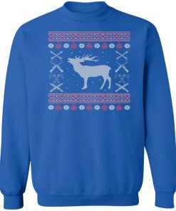 Hunting Lover Ugly Christmas Sweatshirt