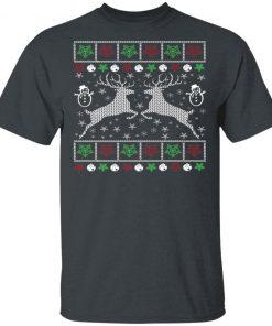 Funny Mens Hunting Ugly Christmas