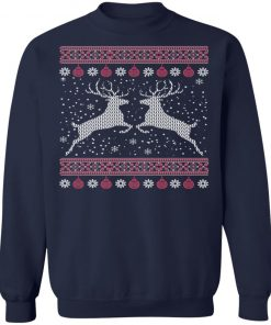 Funny Mens Hunting Lover Ugly Christmas Sweatshirt