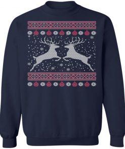 Funny Mens Hunting Lover Ugly Christmas Sweatshirt