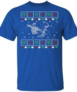 Funny Mens Bow Hunting Lover Ugly Christmas