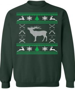 Funny Hunting Lover Ugly Christmas Sweater