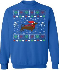 Dachshund Lover Ugly Christmas Sweatshirt
