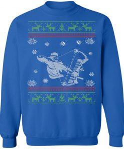 Bow Hunting Ugly Christmas Sweatshirt