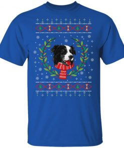 Border Collie Jumper Ugly Christmas