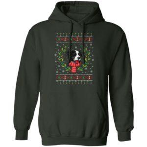 Border Collie Jumper Ugly Christmas