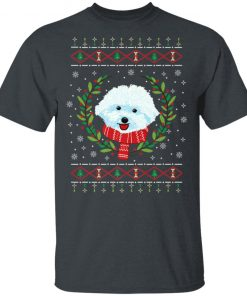 Bichon Frize Jumper Ugly Christmas