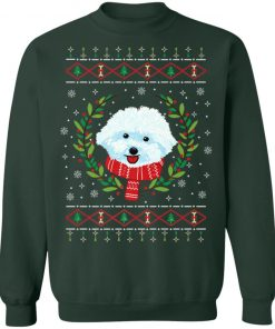 Bichon Frize Jumper Ugly Christmas Sweater