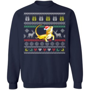 Bearded Dragon Ugly Christmas Sweatshirt
