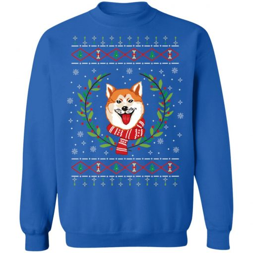 Akita Ugly Christmas Sweater
