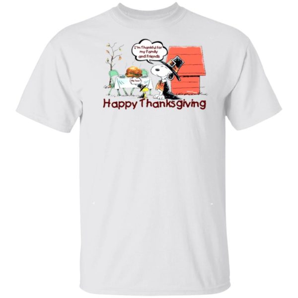 Snoopy Happy Thanksgiving Happy Turkey Day