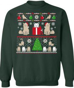 Little Kitty Butts Ugly Christmas Sweatshirt