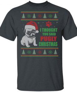 Pugly Christmas Dog Ugly Christmas