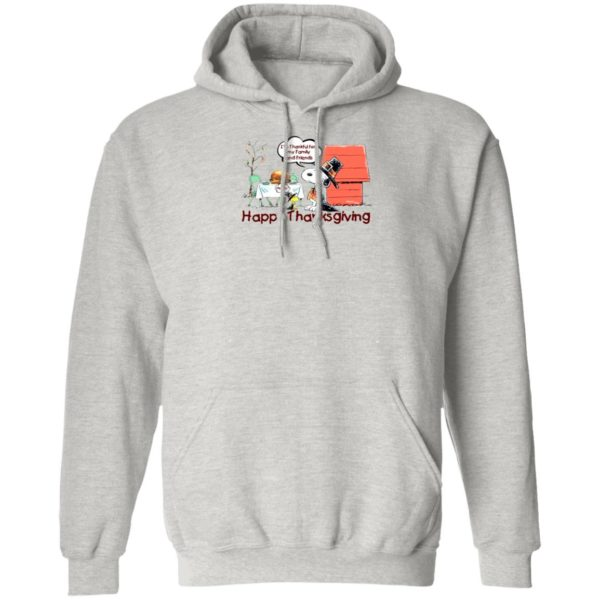 Snoopy Happy Thanksgiving Happy Turkey Day hoodie