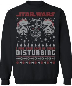 Star Wars Vader Lack Of Cheer Ugly Christmas Sweater