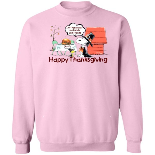 Snoopy Happy Thanksgiving Happy Turkey Day sweater