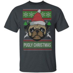Pugly Pug Dog Christmas Ugly