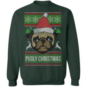 Pugly Pug Dog Christmas Ugly Sweater