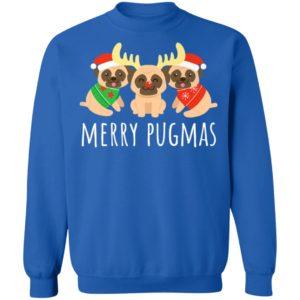 Merry Pugmas Pug Dog Funny Cute Ugly Christmas