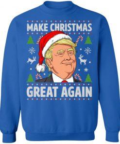 Make Christmas Great Again Trump Ugly Christmas sweater