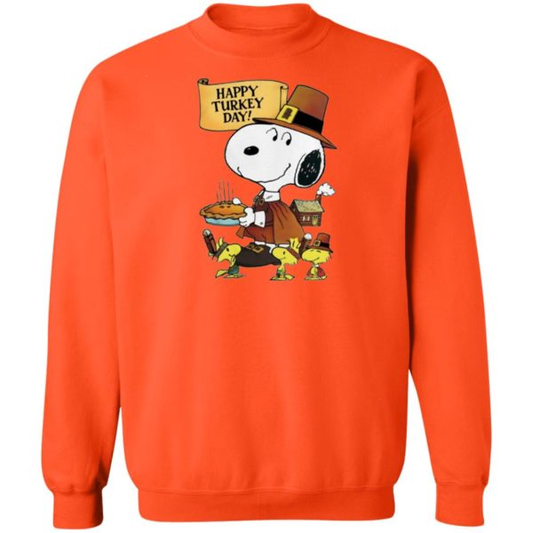 Snoopy Happy Thanksgiving Happy Turkey Day Shirt Sweater