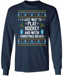 Funny Hockey Ugly Christmas