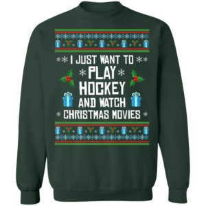 Funny Hockey Ugly Christmas Sweater