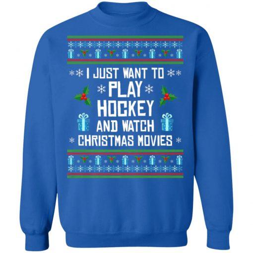 Funny Hockey Ugly Christmas Sweater