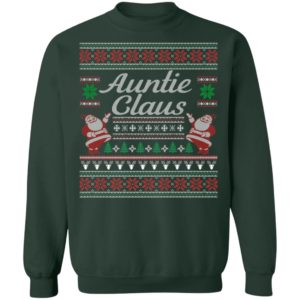 Auntie Claus Ugly Christmas Sweatshirt