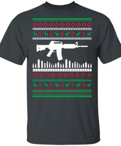 AR15 Machine Gun Ugly Christmas