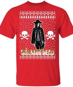 The Walking Dead Carl Grimes Santa Hat Christmas
