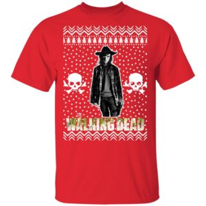The Walking Dead Carl Grimes Santa Hat Christmas