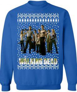 The Walking Dead Christmas Sweatshirt