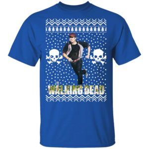 The Walking Dead Glenn Rhee Santa Hat Christmas