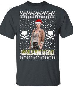 The Walking Dead Melissa McBride Santa Hat Christmas