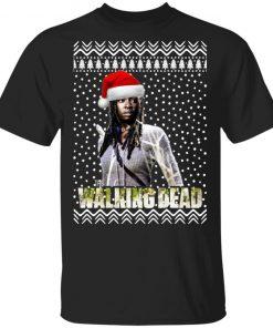 The Walking Dead Michonne Santa Hat Christmas
