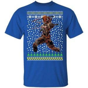DC Comic Deathstroke Ugly Christmas
