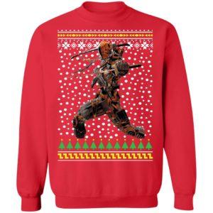 DC Comic Deathstroke Ugly Christmas Sweatshirt