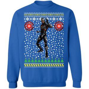DC Comic Cyborg Ugly Christmas Sweatshirt
