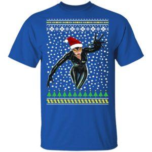 DC Comic Catwoman Santa Hat Ugly Christmas