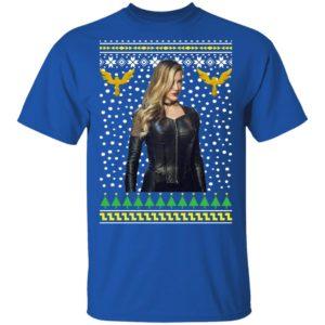 DC Comic Black Canary Sara Lance Ugly Christmas
