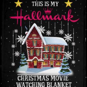 Hallmark Christmas Movie Fleece Blanket