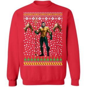 DC Comic Aquaman Ugly Christmas Sweatshirt
