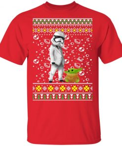 Star Wars Stormtrooper And Baby Yoda Ugly Christmas